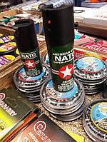 Газовый баллончик NATO спецназовский, для  самообороны, супер эффект, фото 1