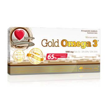 Gold Omega 3 65% / Голд Омега 3 65%  60 капсул