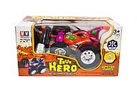 Детская игрушка машинка на радиоуправлении Перевертыш, красный