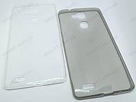 Ультратонкий чехол для Huawei Ascend Mate 7 прозрачный и серый, фото 1