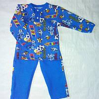 Теплая детская пижама для мальчика