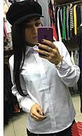 Рубашка 85132-1 белый 50-52 54-56