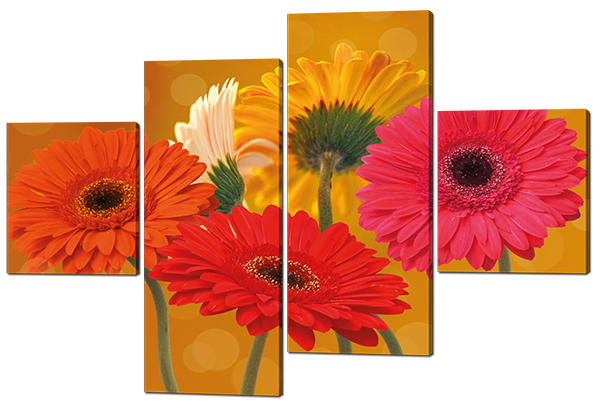 Модульная картина Цветы
