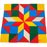 Мозаїка велика геометричні фігури РУДI