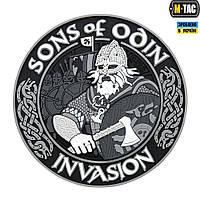 Нашивка M-Tac Sons of Odin 3D ПВХ черный/серый, фото 1