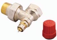 Термостатический клапан угловой Danfoss RA-N 25 для двухтрубной системы отопления