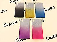 TPU чехол Gradient для Sony Xperia X F5122 (5 цветов)