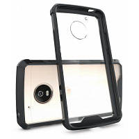 Прозрачная поверхность противоударный Чехол назад ПК для Motorola Мото Г5