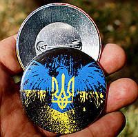 "Значок ""Український птах"" (56 мм), фото 1"
