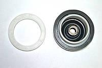 Сальник для стиральной машинки полуавтомат с пластмассовой резьбой d=64mm.