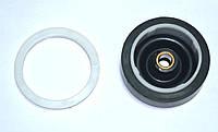 Сальник для пральної машинки напівавтомат з пластмасовою різьбленням d=60,4 mm.