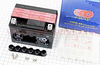 Аккумулятор на мототехнику 4Аh YB4L-BS (кислотный) 113/70/85мм