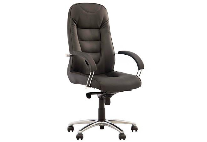 Крісло офісне Boston steel механізм Anyfix хрестовина AL68, екошкіра Eco-31 (Новий Стиль ТМ)