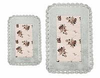 Набор ковриков для ванной Irya Essa 70*110+40*60 голубой