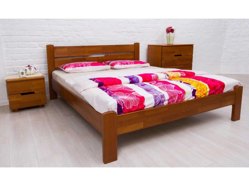 Кровать деревянная Айрис без изножья ТМ Олимп