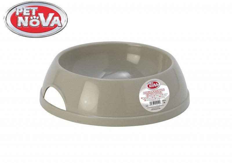 Миска для собак  Pet Nova P-EUROBOWL-470-GR Серая