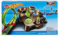 Трек Хот Вилс Опасный рикошет Hot Wheels Rebound Raceway Playset