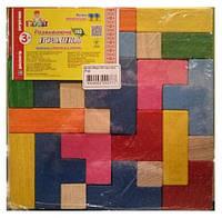 Детская логическая игра Збери 3D пазл міні РУДI
