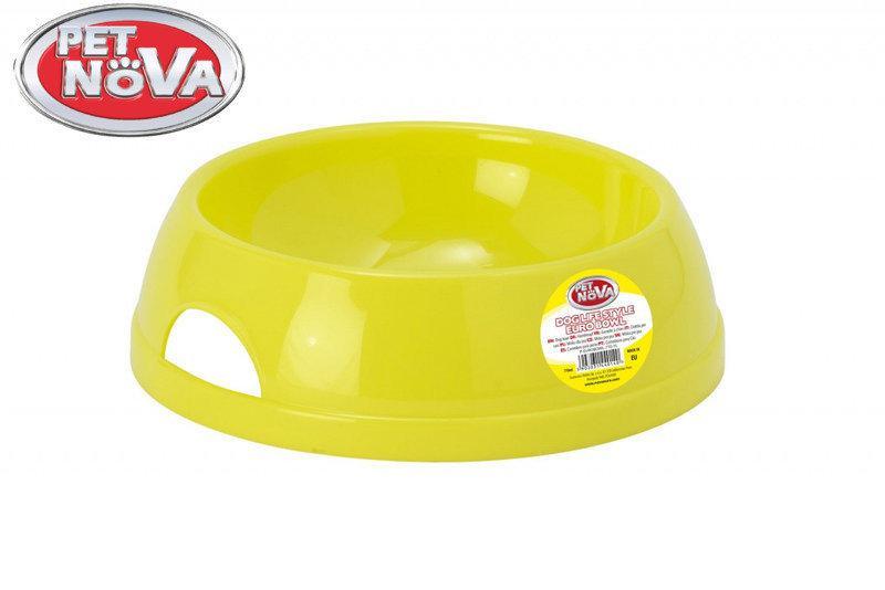 Миска для собак Pet Nova P-EUROBOWL-770-YL Жовта