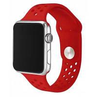 Простой дышащий ремешок для 38мм Apple Watch Красный