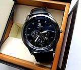 Годинники чоловічі кварцові GRAND Carrera All Black. Стильні годинники GRAND Carrera All Black. Якісні годинники., фото 5