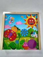 Детская игра  настольная  Гра пазл-логіка в коробці