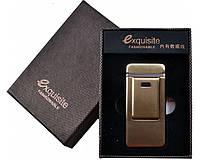 Лектроимпульсная подарочная USB зажигалка Exguisite