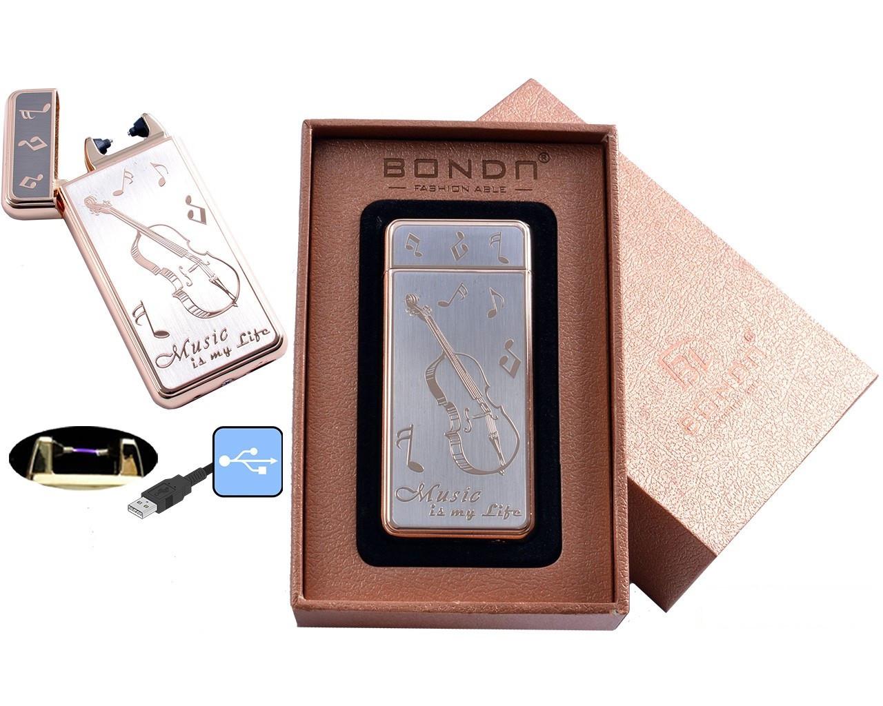 Электроимпульсная USB зажигалка BONDN Music