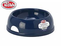 Миска для собак Pet Nova Р-EUROBOWL-2450-BL Синя