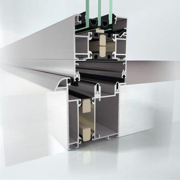 Складная раздвижная система Schüco ASS 70 FD