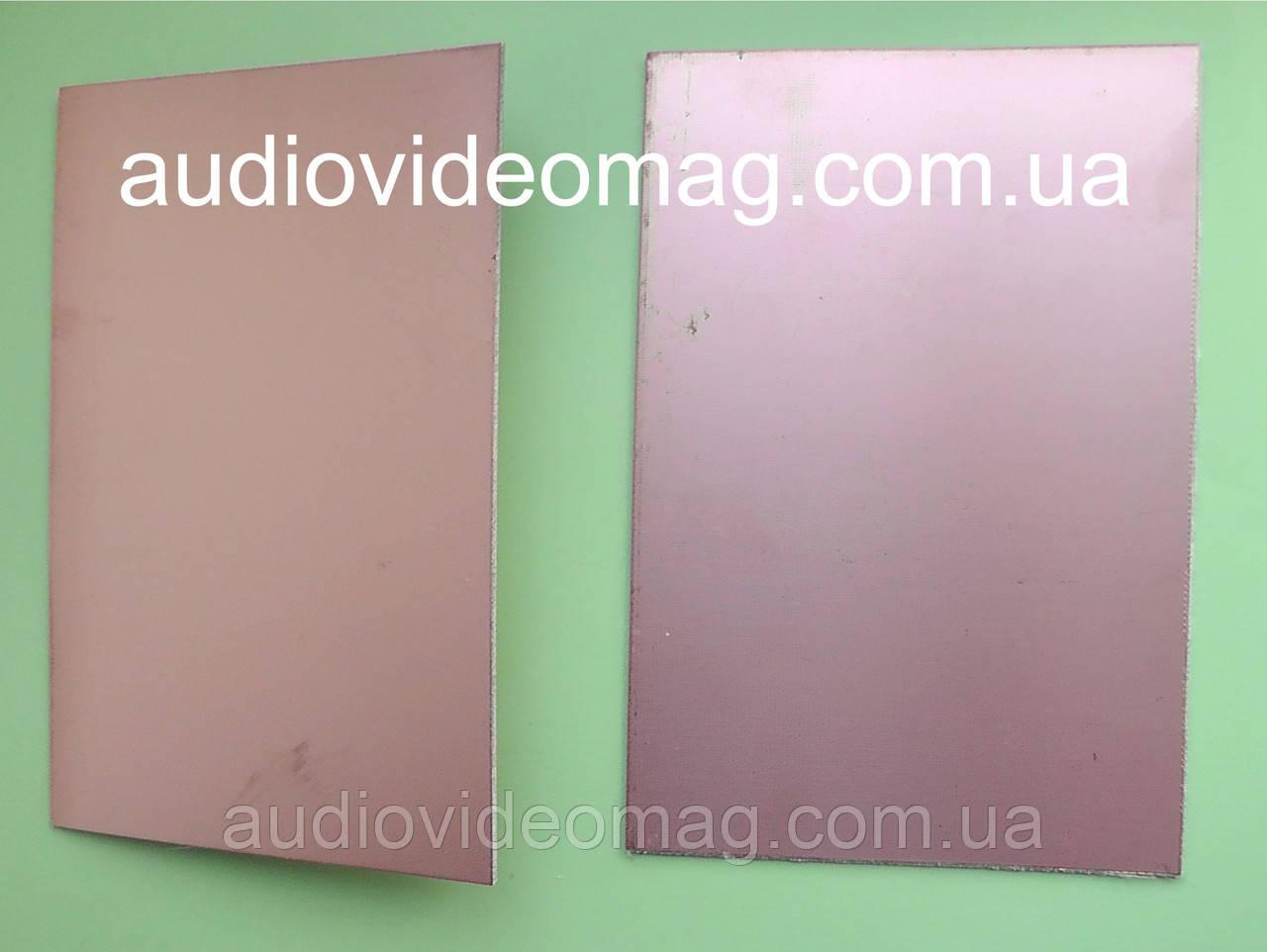 Текстоліт фольгований двосторонній, товщина: 1.5 мм, розмір 10 на 15 см