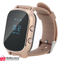 Детские GPS Часы Smart Baby Watch T58 (GW700) gold