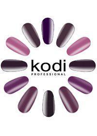"Гель-лаки Kodi Professional ""Basic collection"" Violet (v) 8 мл"