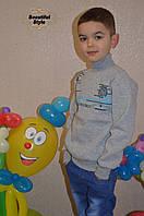 Серая водолазка для мальчика, фото 1