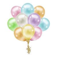 """Гелиевые шары перламутровые 10"""" (25 см)"""