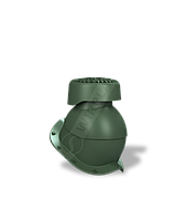 Фановый выход WirPlast (Вирпласт) Perfekta K84 Хромовый зеленый 6020