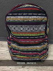 Жіночий, дитячий рюкзак візерунки, лінії