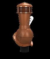 Вентиляционный выход Wirplast Perfekta K48 неутепленный 110 мм Медно-коричневый 8004