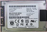 "SSD Toshiba 128GB 1.8"" SATA micro SATA + переходник micro SATA - SATA"