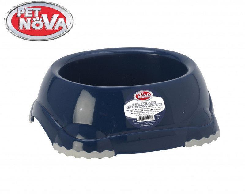 Миска для собак  Pet Nova EUROBOWL-INNO-315-BL Синяя