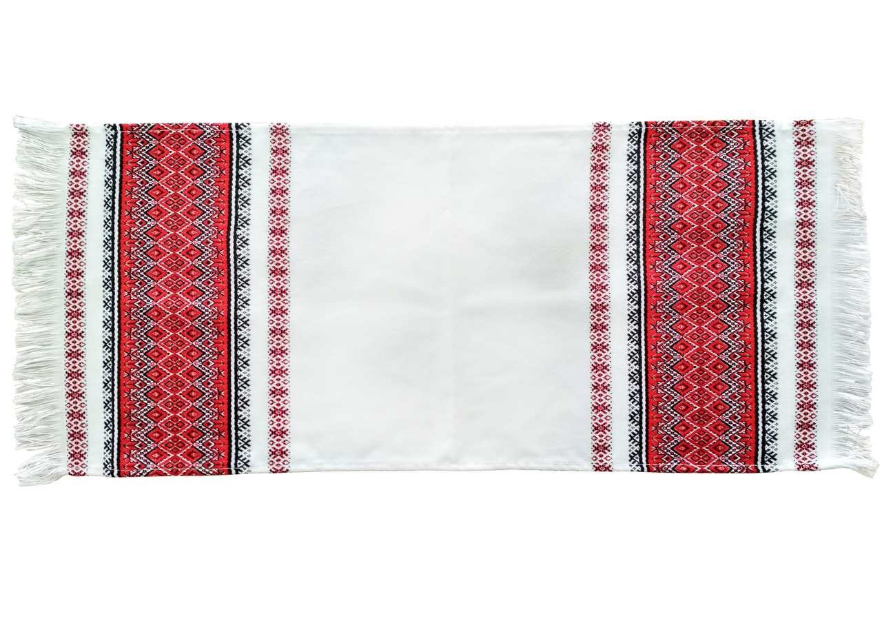 Вишитий рушник на весілля «Хліб - Сіль» 70/33 см