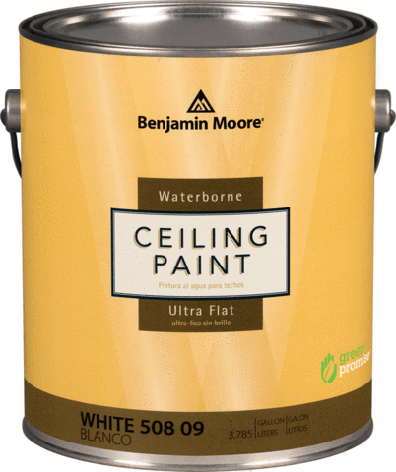Глубокоматовая краска для потолка Ceiling Paint Benjamin Moore 3,78л, фото 2