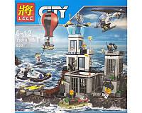 Конструктор LELE 39016 CITY - Остров-тюрьма (830 дет.)