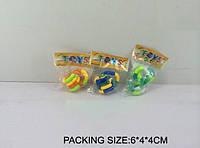 Игра в клубок 3 цвета, в п/э 6*4*4 см /480/(661)