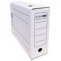 Бокс архивный Economix белый 10 см.