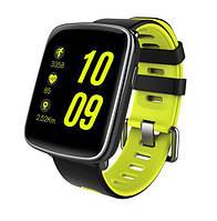 Смарт годинник розумні годинник SmartYou X1 Sport (certified) ЧОРНО-ЗЕЛЕНІ SKU0000943, фото 1
