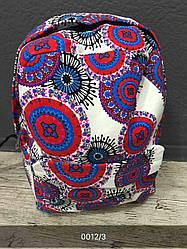Жіночий, дитячий рюкзак візерунки, квітковий