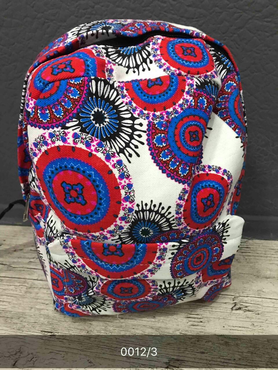 Женский, детский рюкзак узоры, цветочный