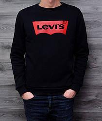 Свитшот Levi's темно-синий реплика