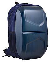 "Ранец ортопедический каркасный ""YES"", Stalwart Т-33, синий. 555521, фото 1"
